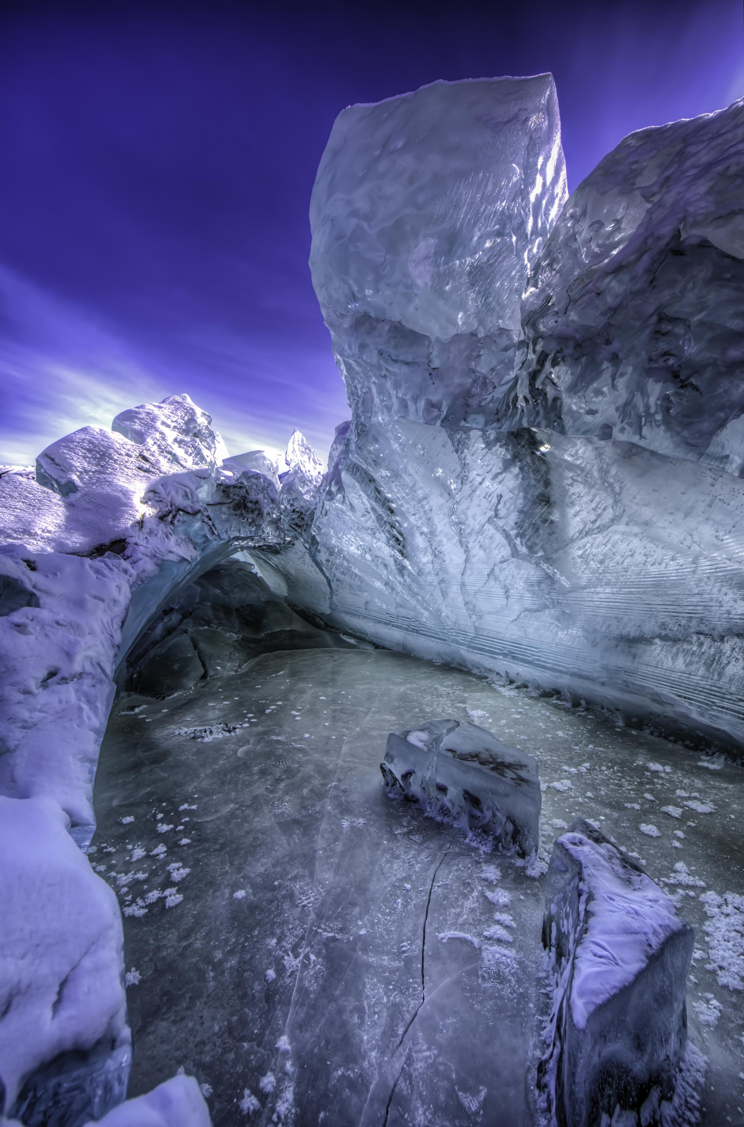 The Unbelievable Ice Hideaway