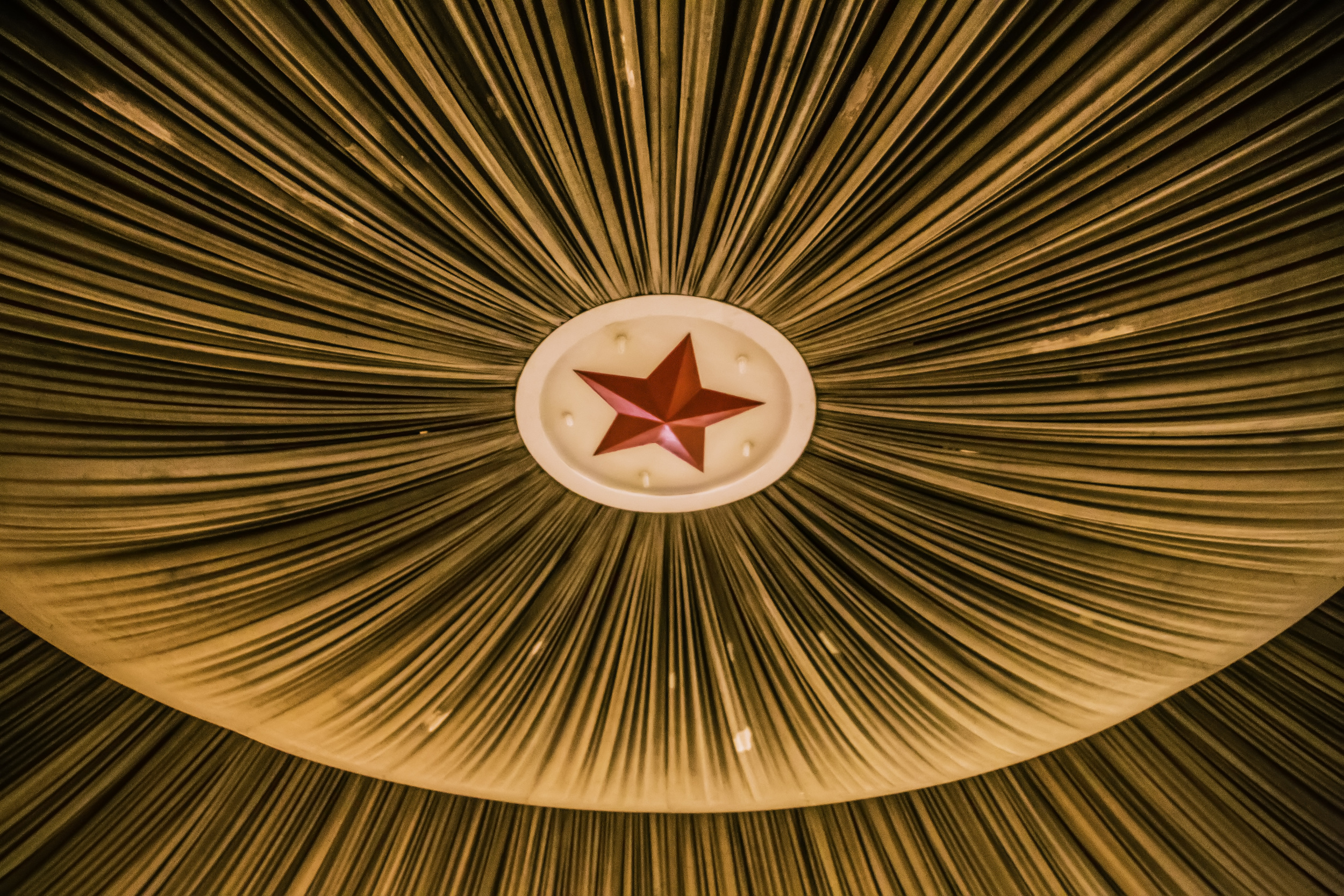 The Red Star Ceiling