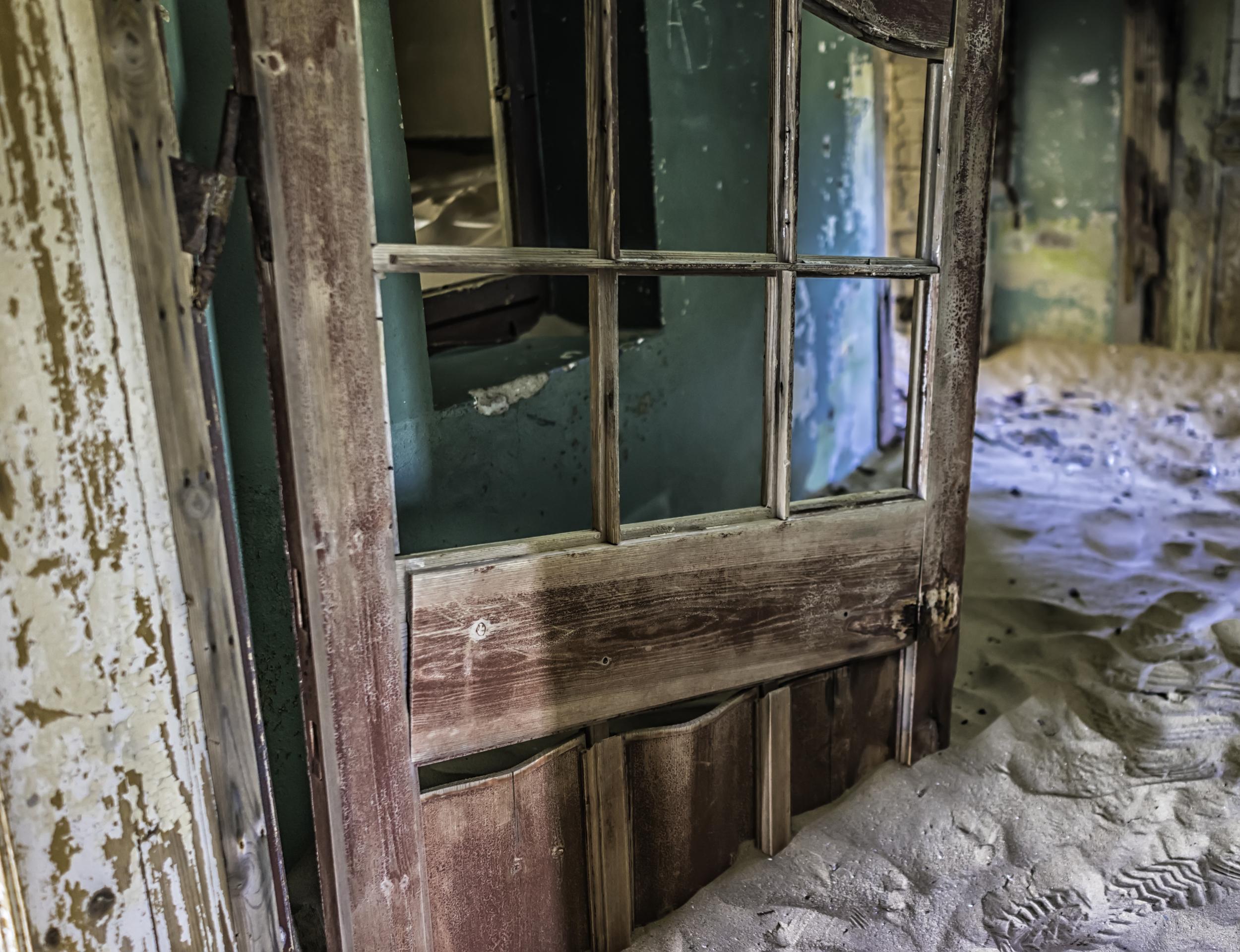 The Door That Won't Budge