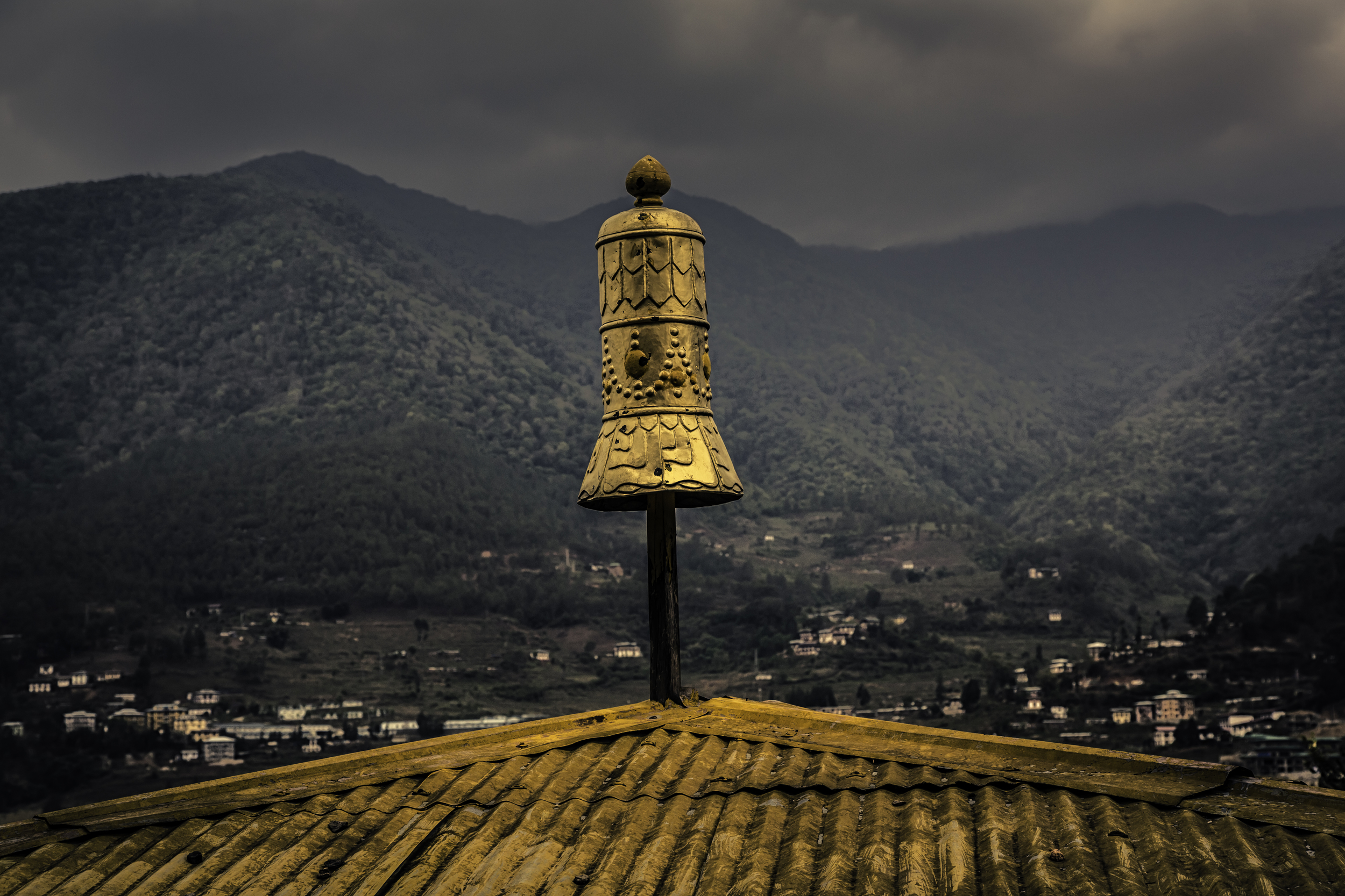 The Golden Spire of Chimi Lhakhang