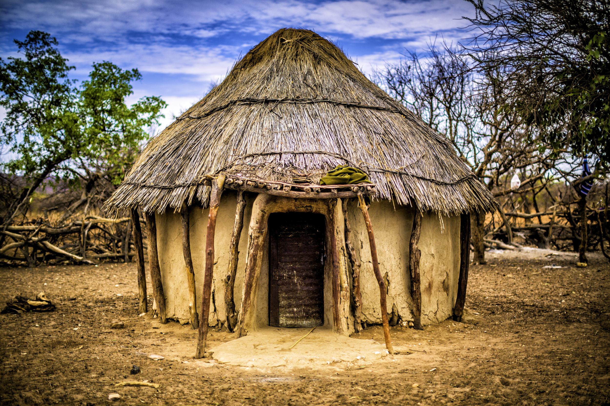 Himba Hut