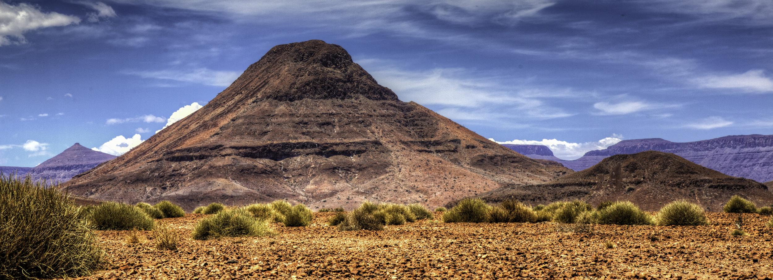 The Mysterious Pyramid Mountain