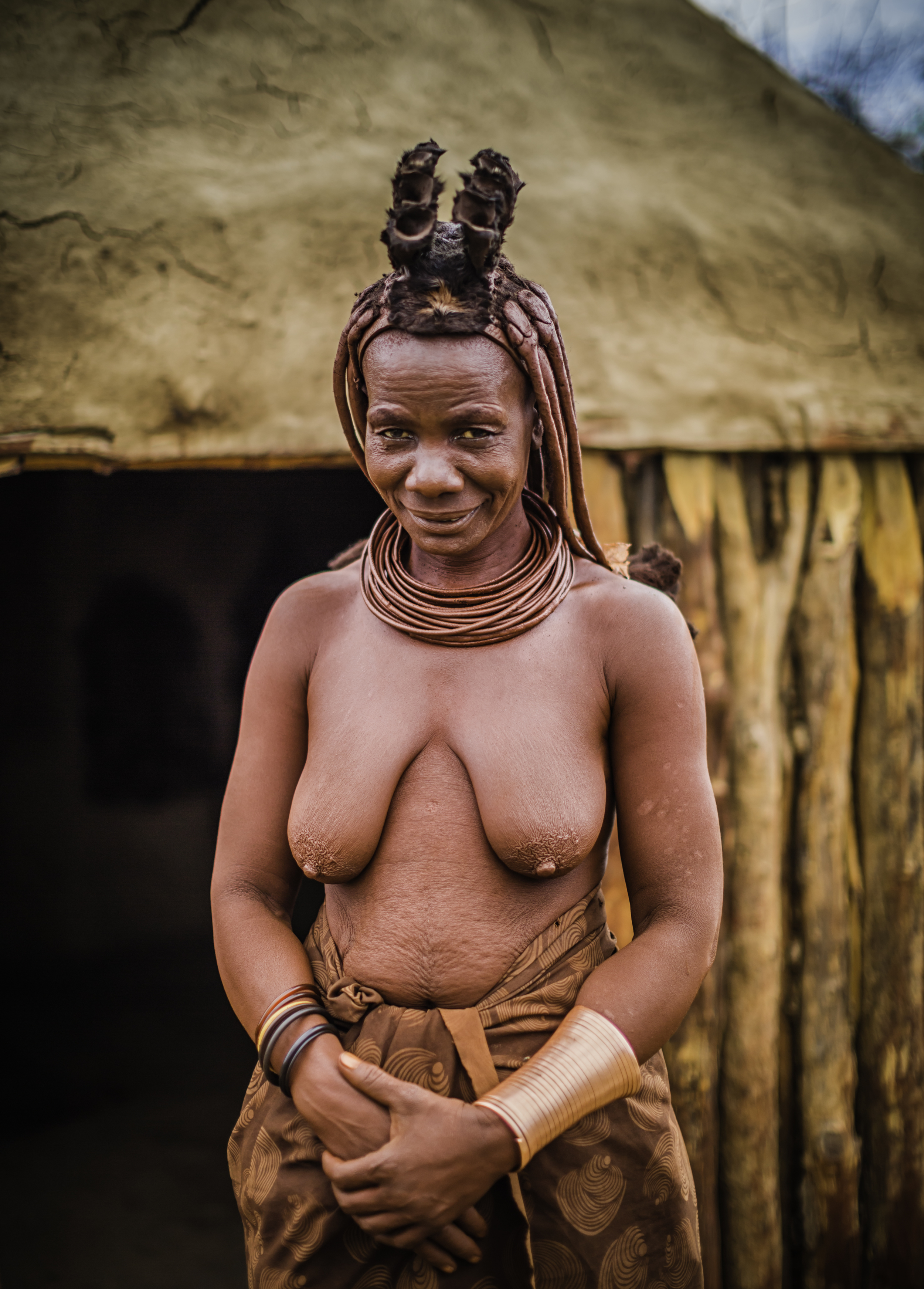 The Red Himba Woman