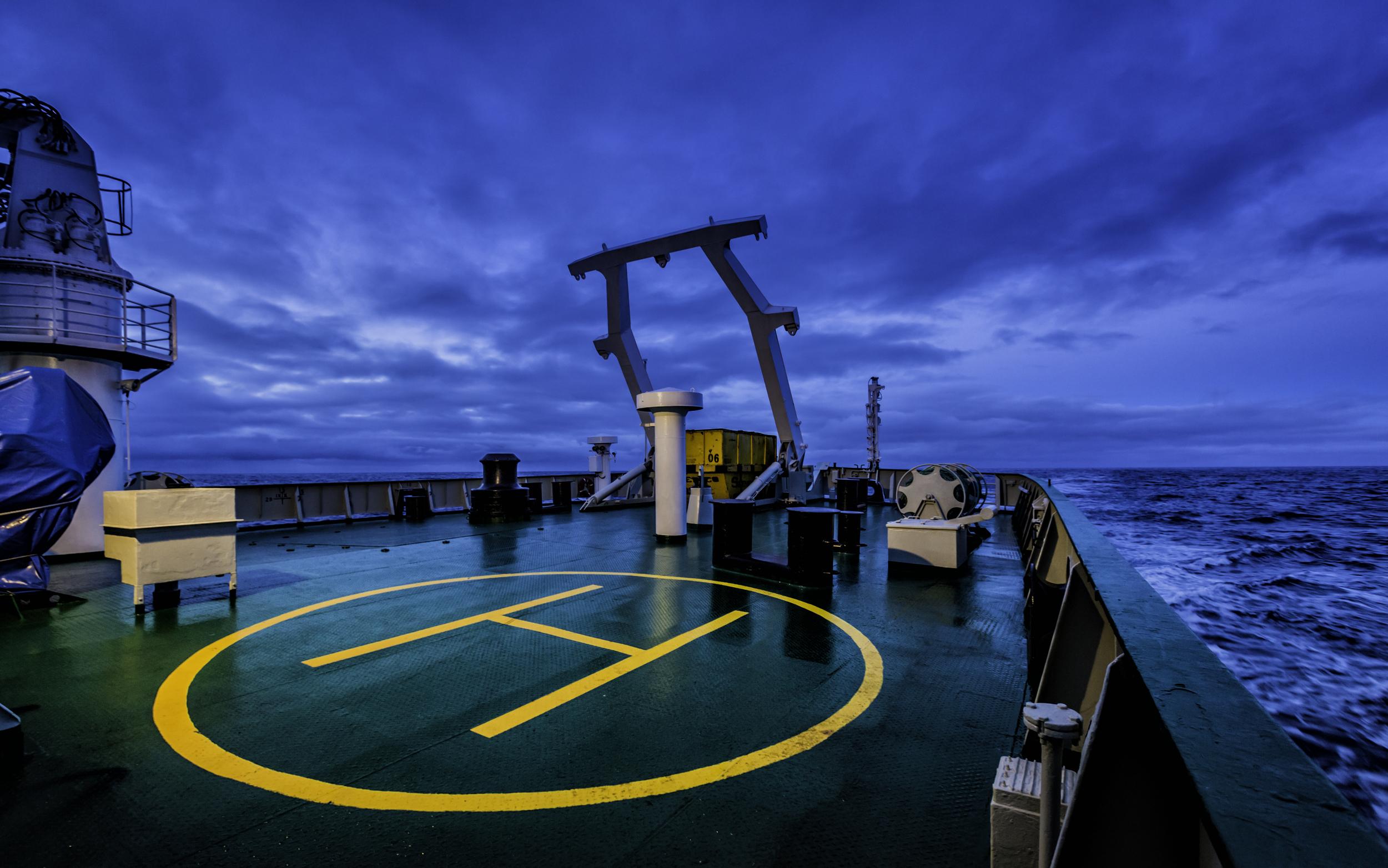 Cruising Towards Antarctica
