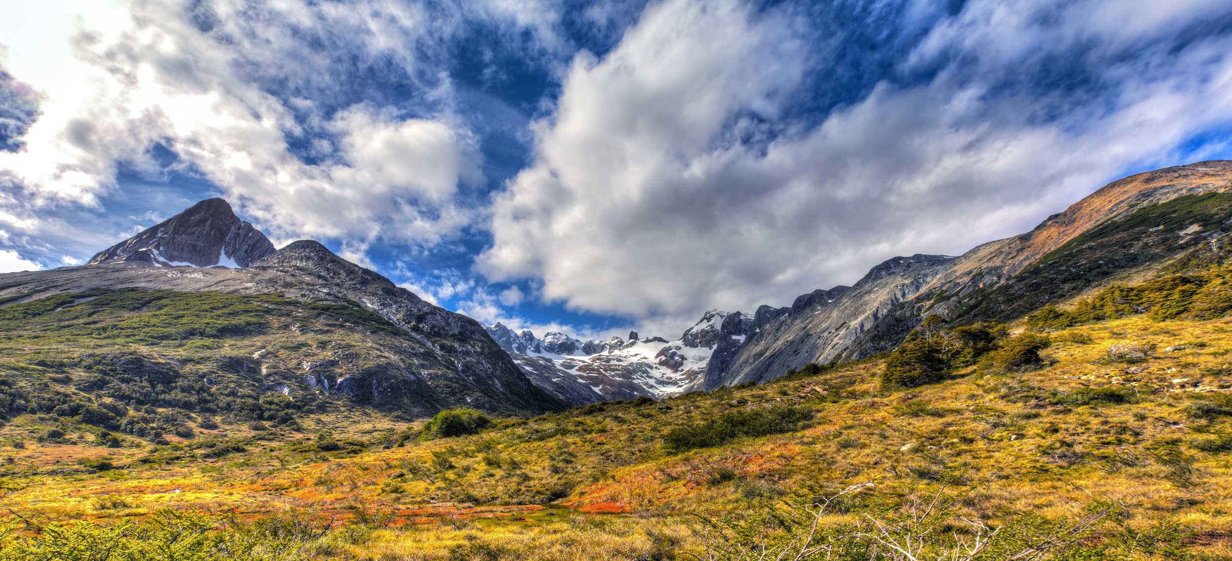 Hiking Through Tierra del Fuego