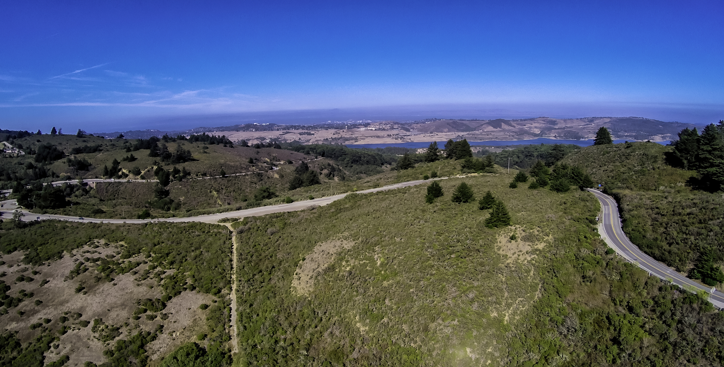 Approaching The Crystal Springs Reservoir