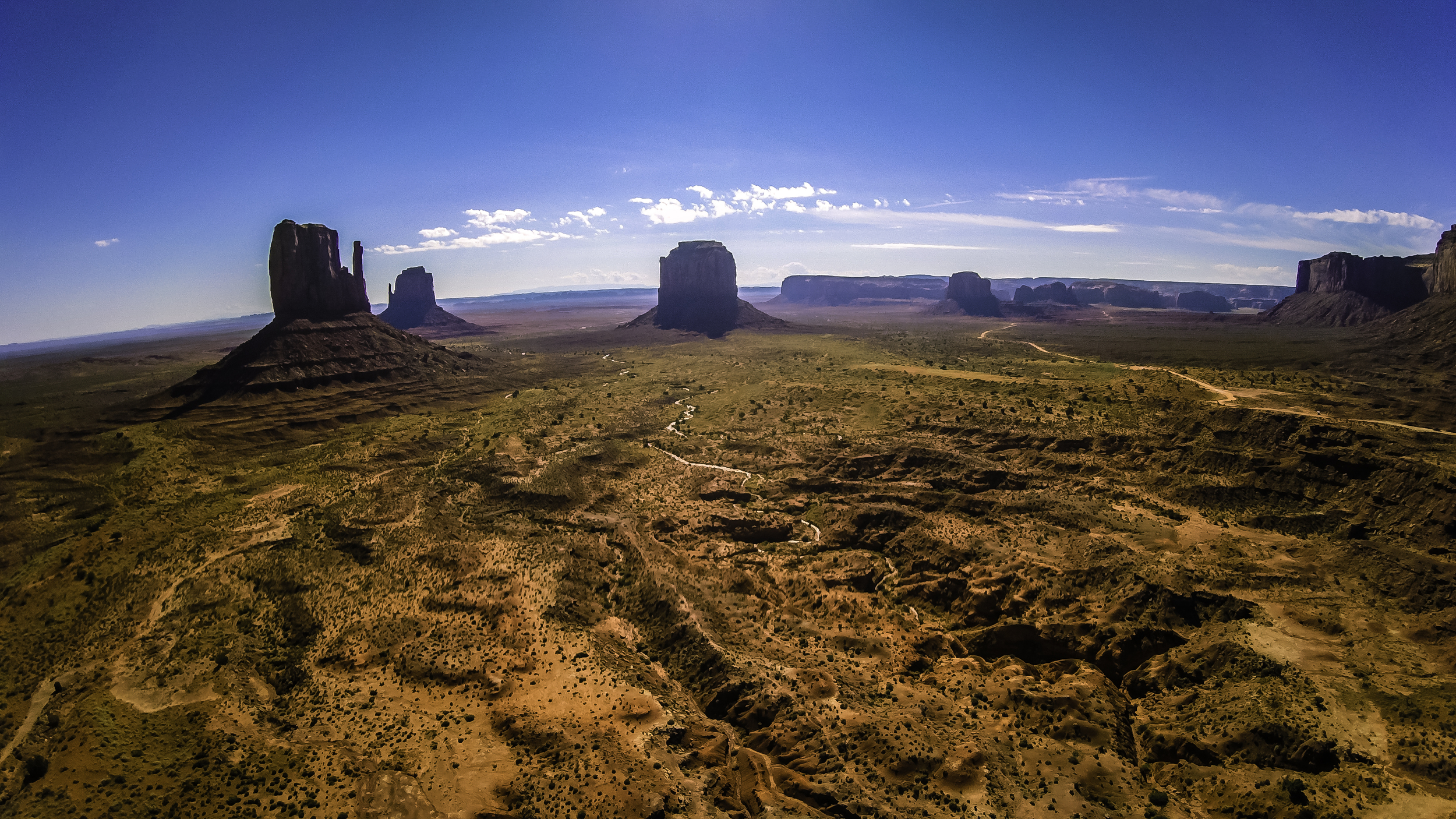 Above Monument Valley