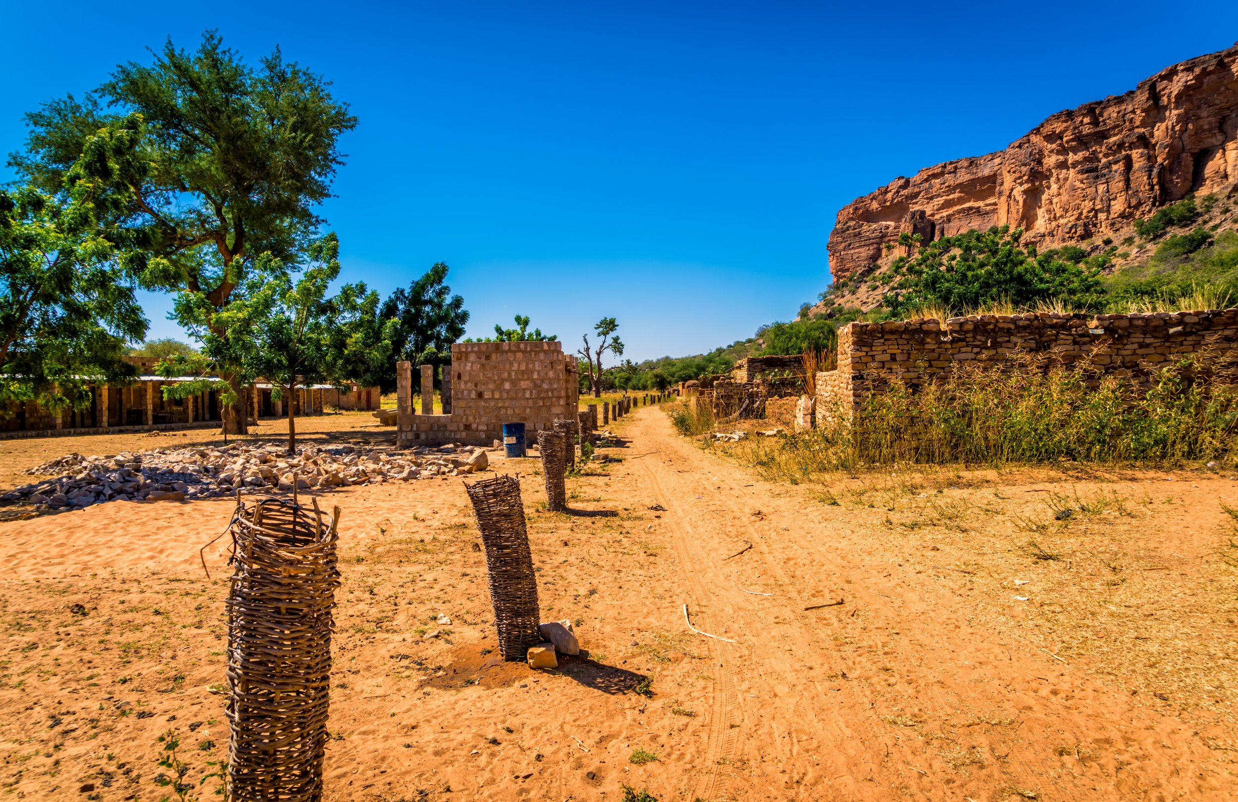 Dogon Country Village Path