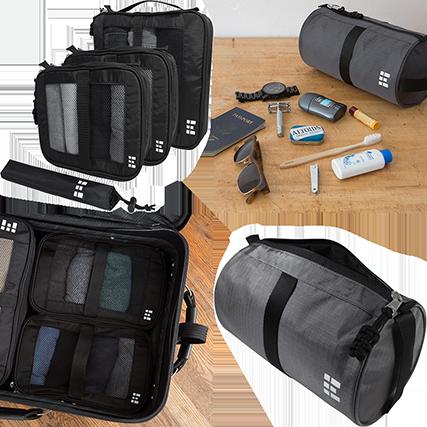 ZeroGrid Packing Cubes & Toiletry Bag. Source: zerogrid.com