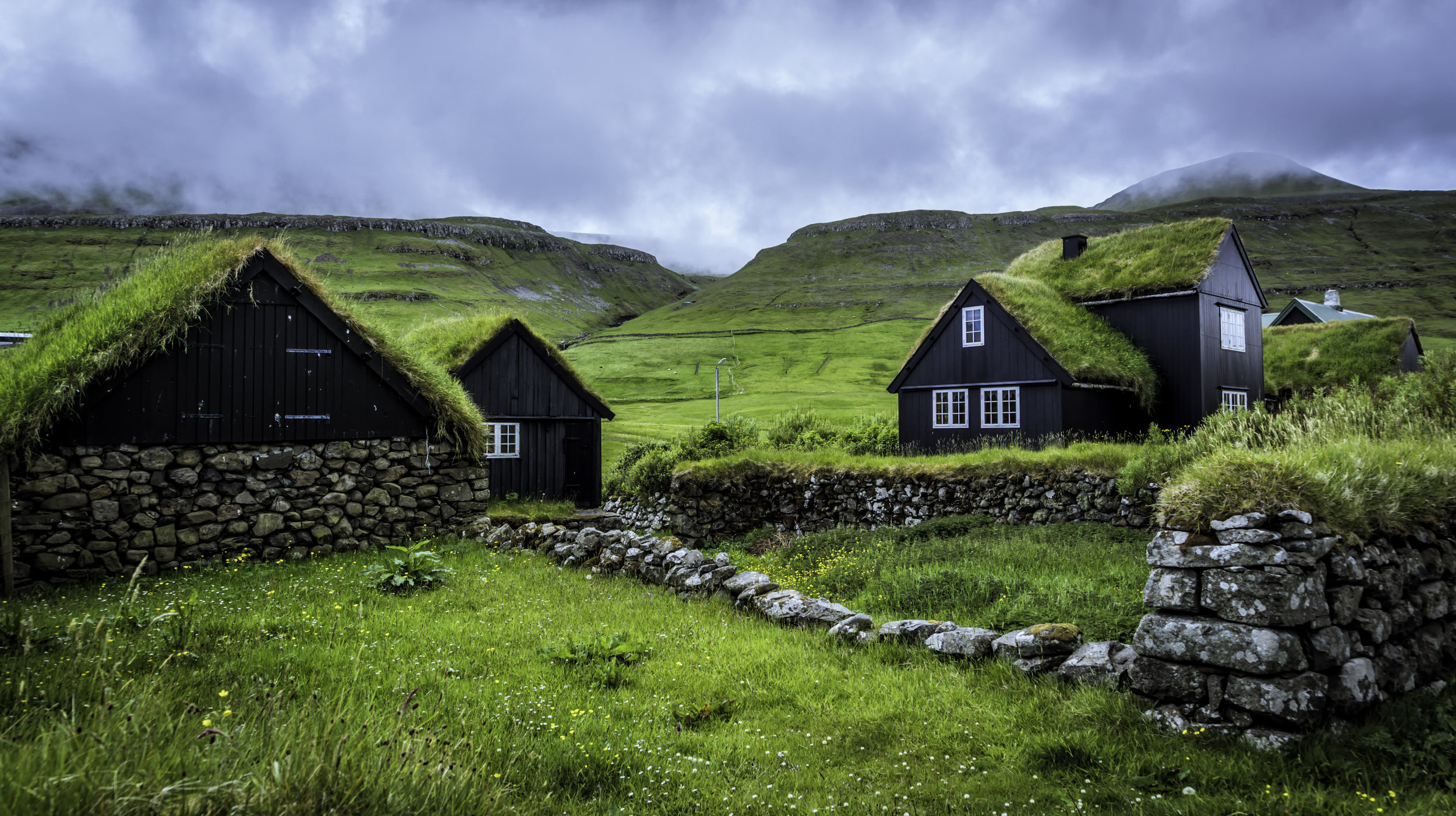 Husavik Turf Houses
