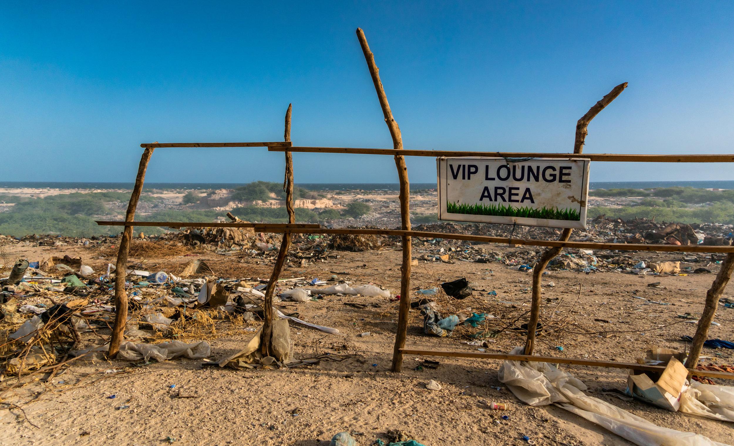 VIP Lounge Area