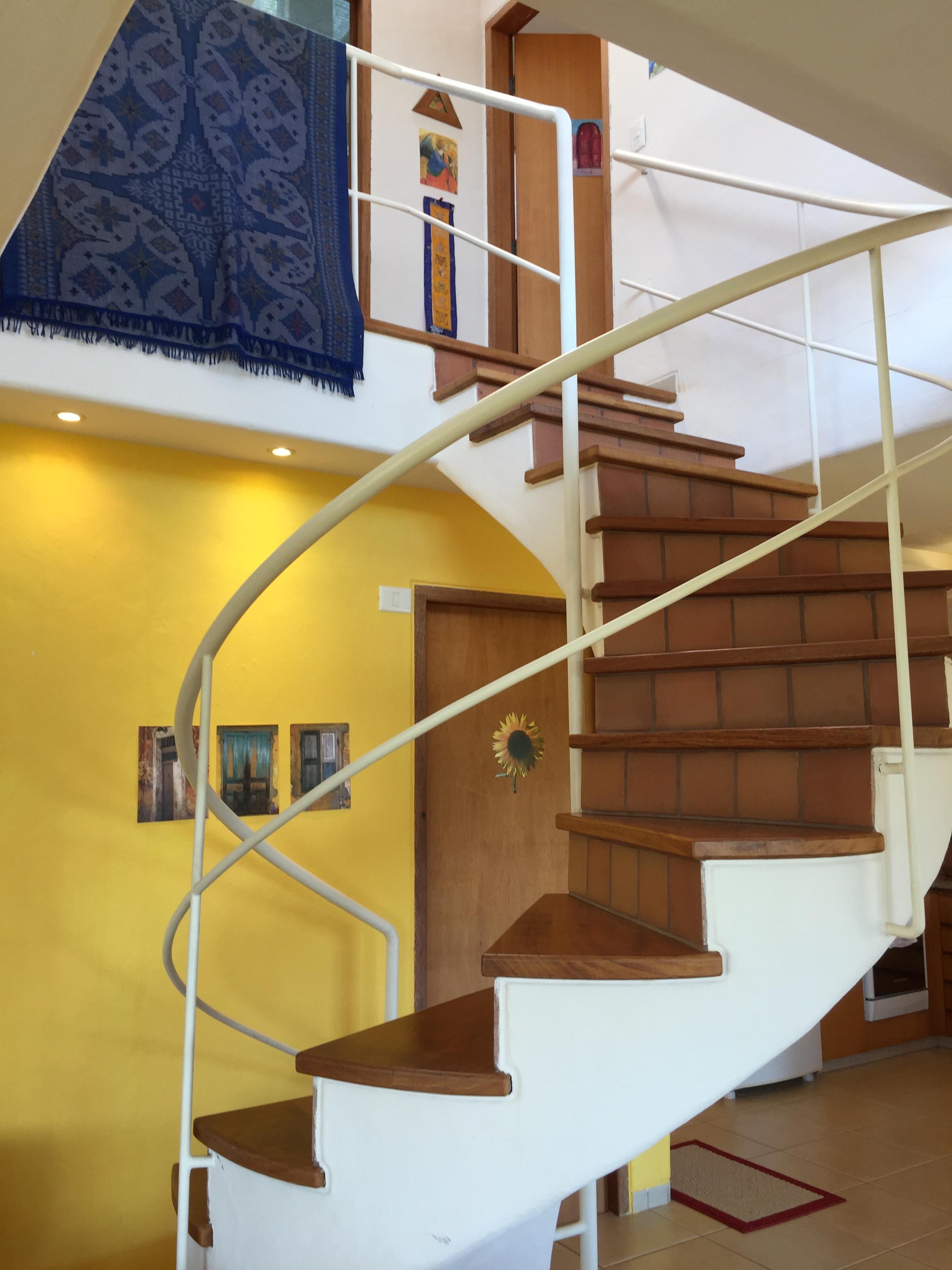 Casa de Luz -- 16 Stufen zur Schlafzimmer Etage