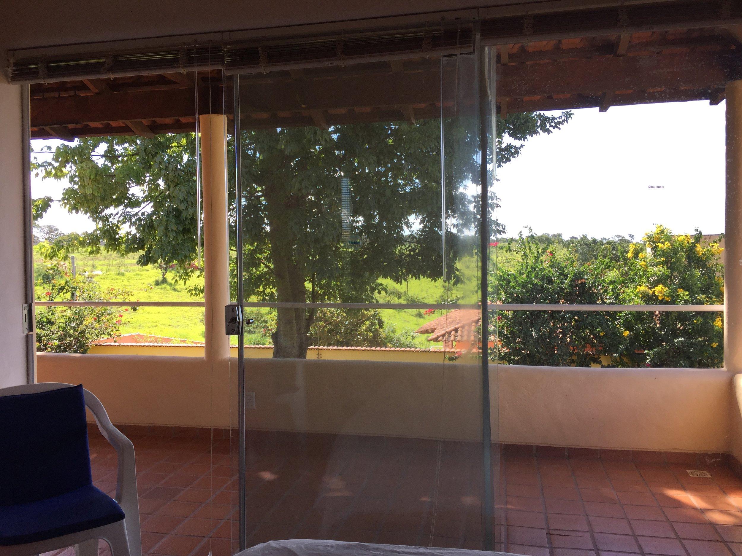 Casa de Luz -- Blick from Doppelbett