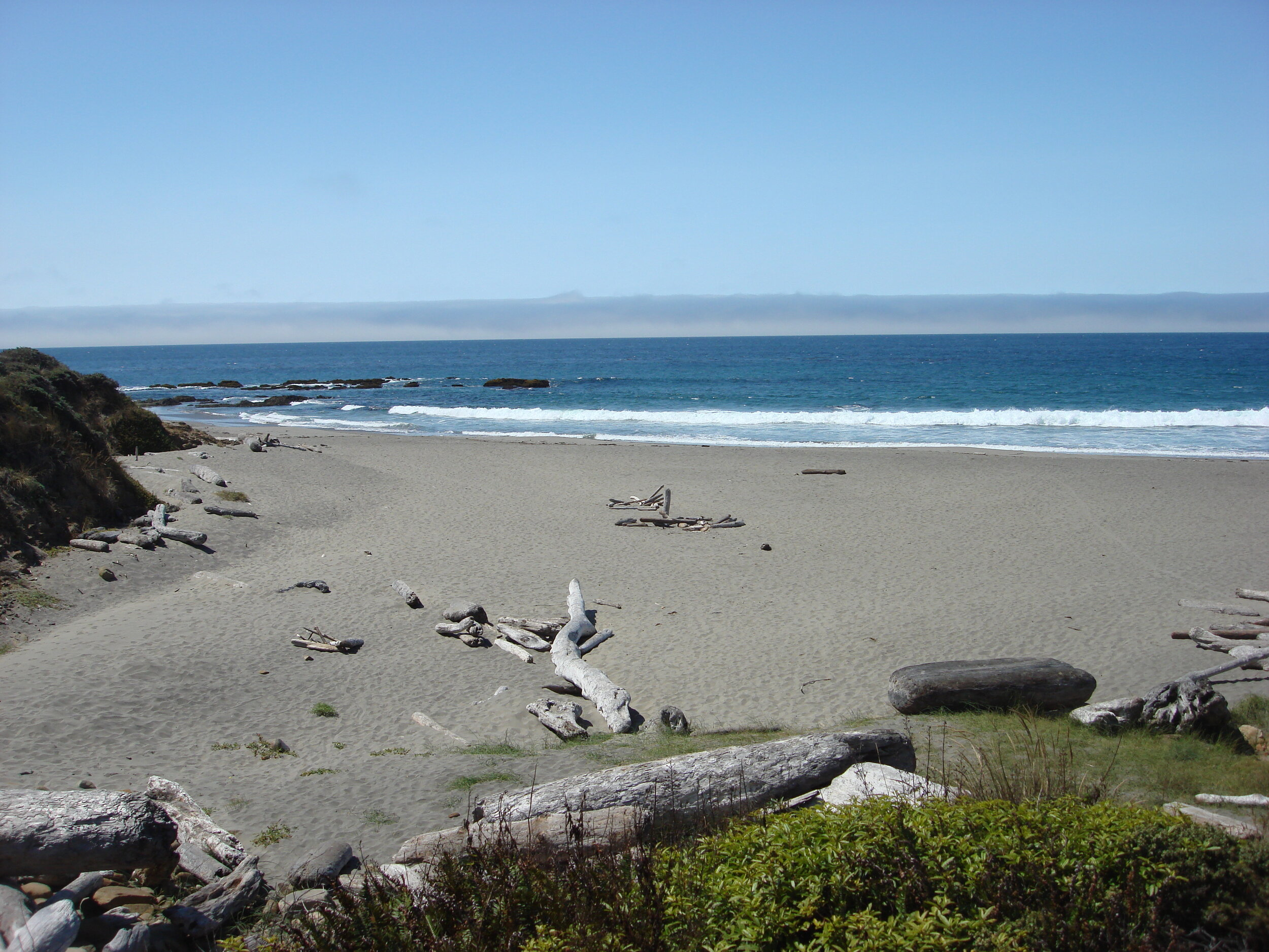 "Sea Ranch's famous ""Walk-on-Beach,"" just 150 yards from Casa Pacis"