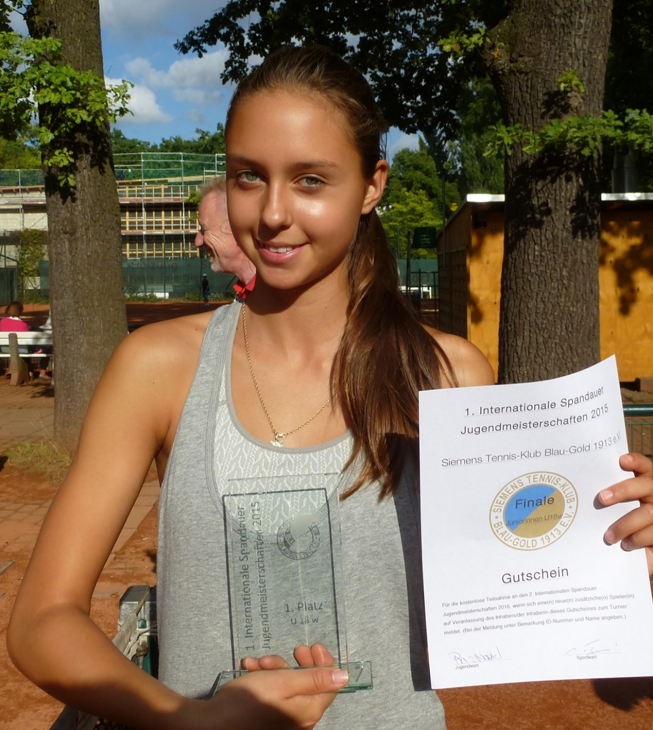 Marfa Kiseleva 1. Platz U18w 2015