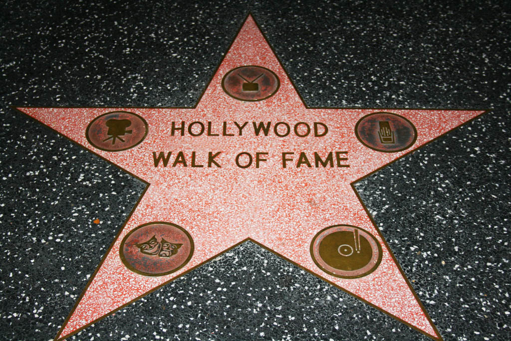 movie star party-walk of fame