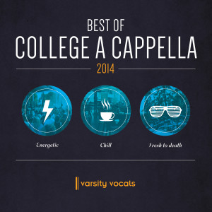 """Janelle's solo, """"Death of Communication,"""" can now be heard on Varsity Vocals Best of College A Cappella 2014. Take a listen to track 16!"""