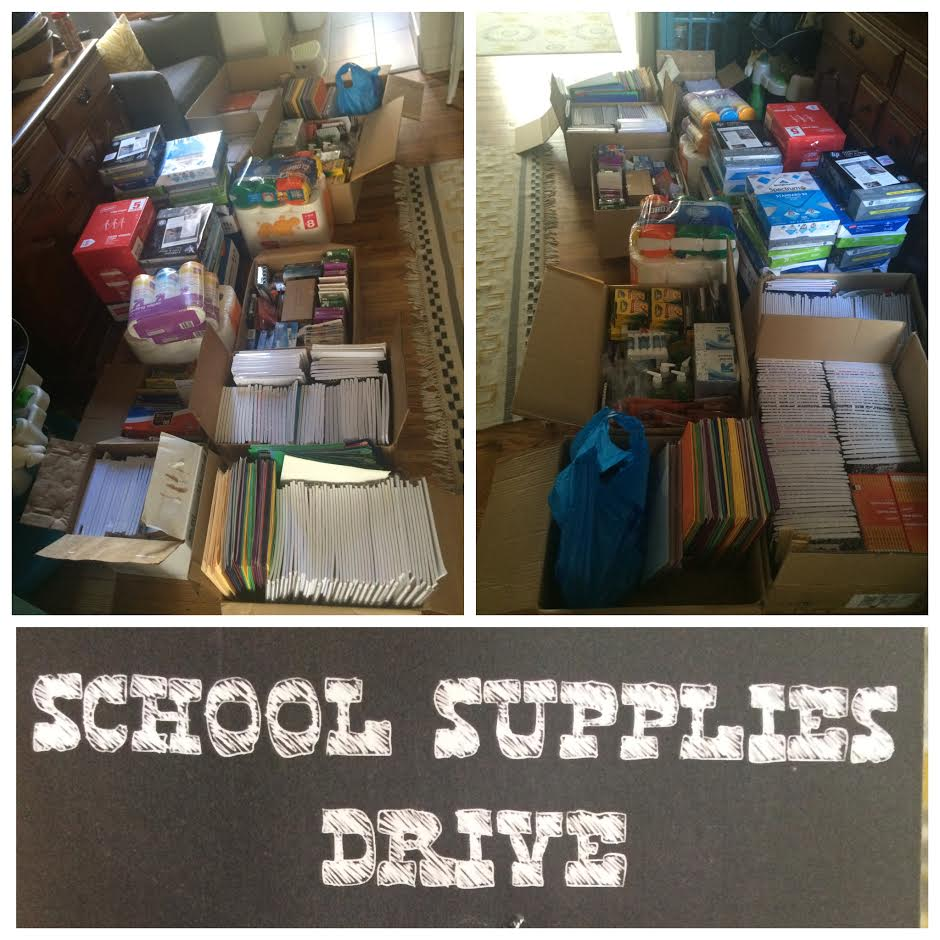 Back to School supplies donated by Liberti:Fairmount to the children of Robert Morris Elementary School in 2016!