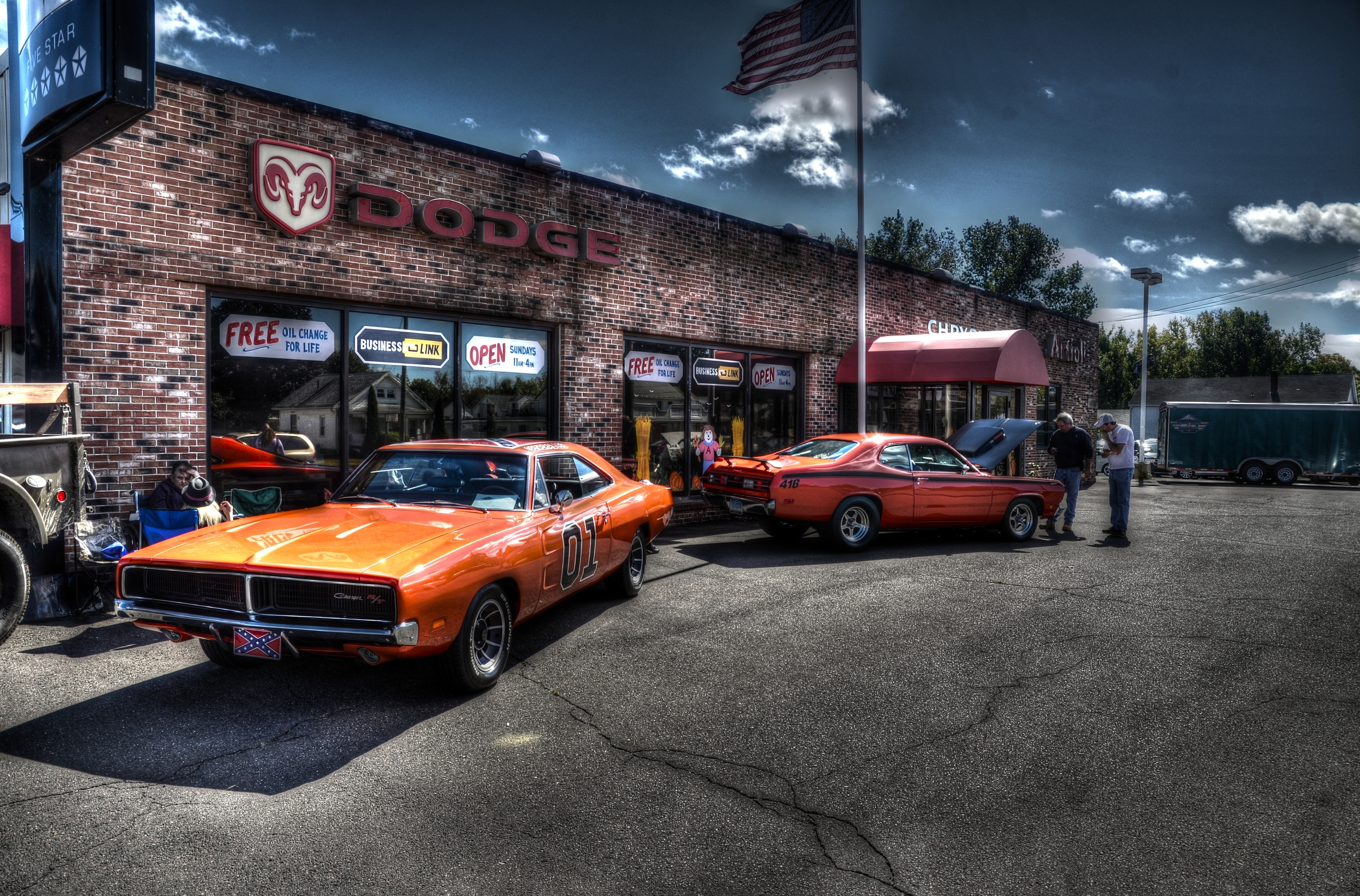 Dodge Charger & Plymouth Duster
