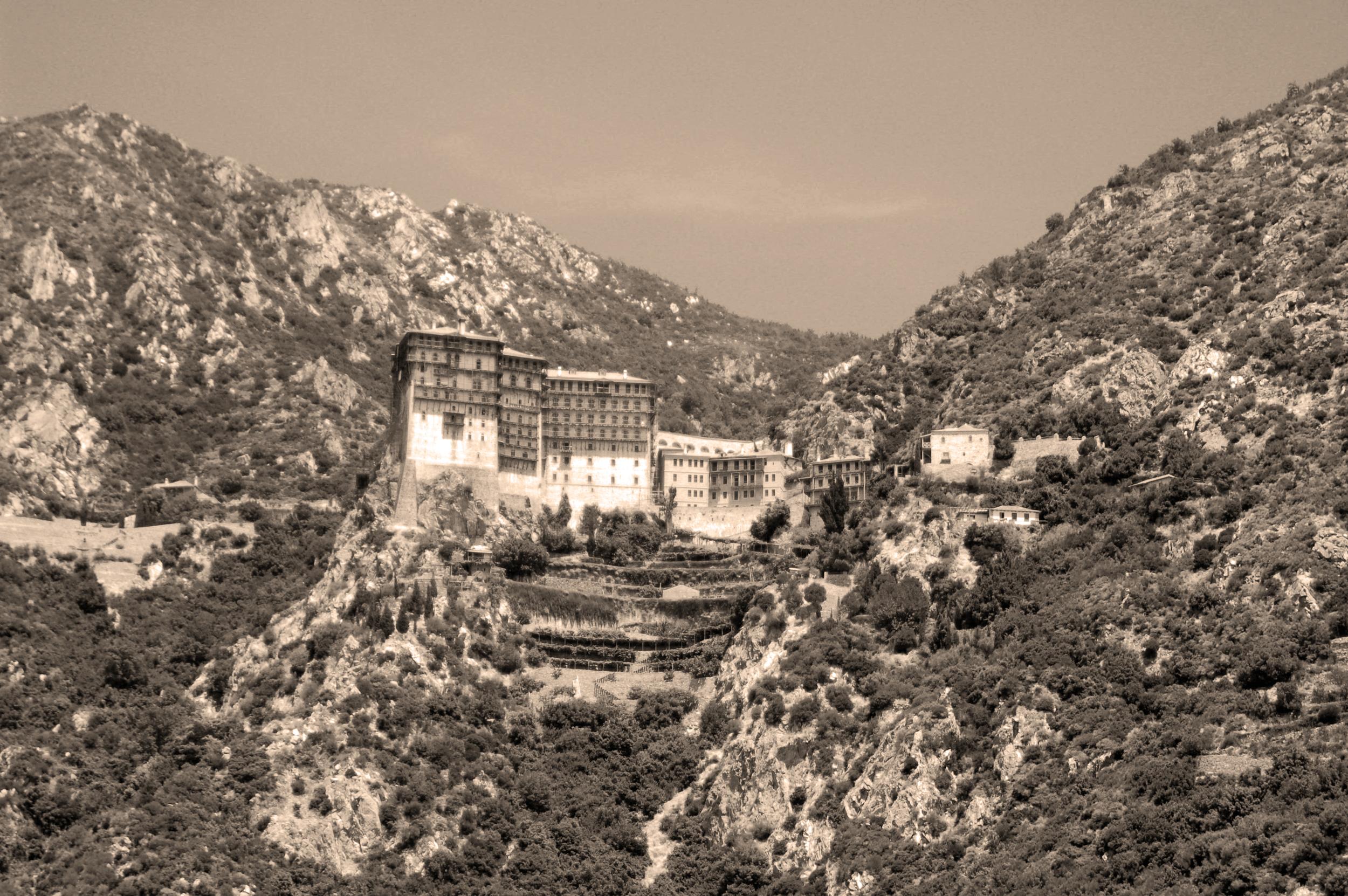 Mount Athos monestary