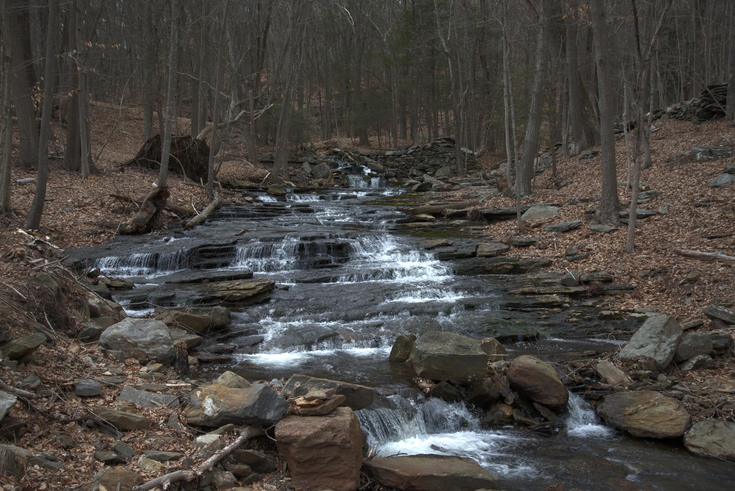 Rt 82 waterfall Haddam CT