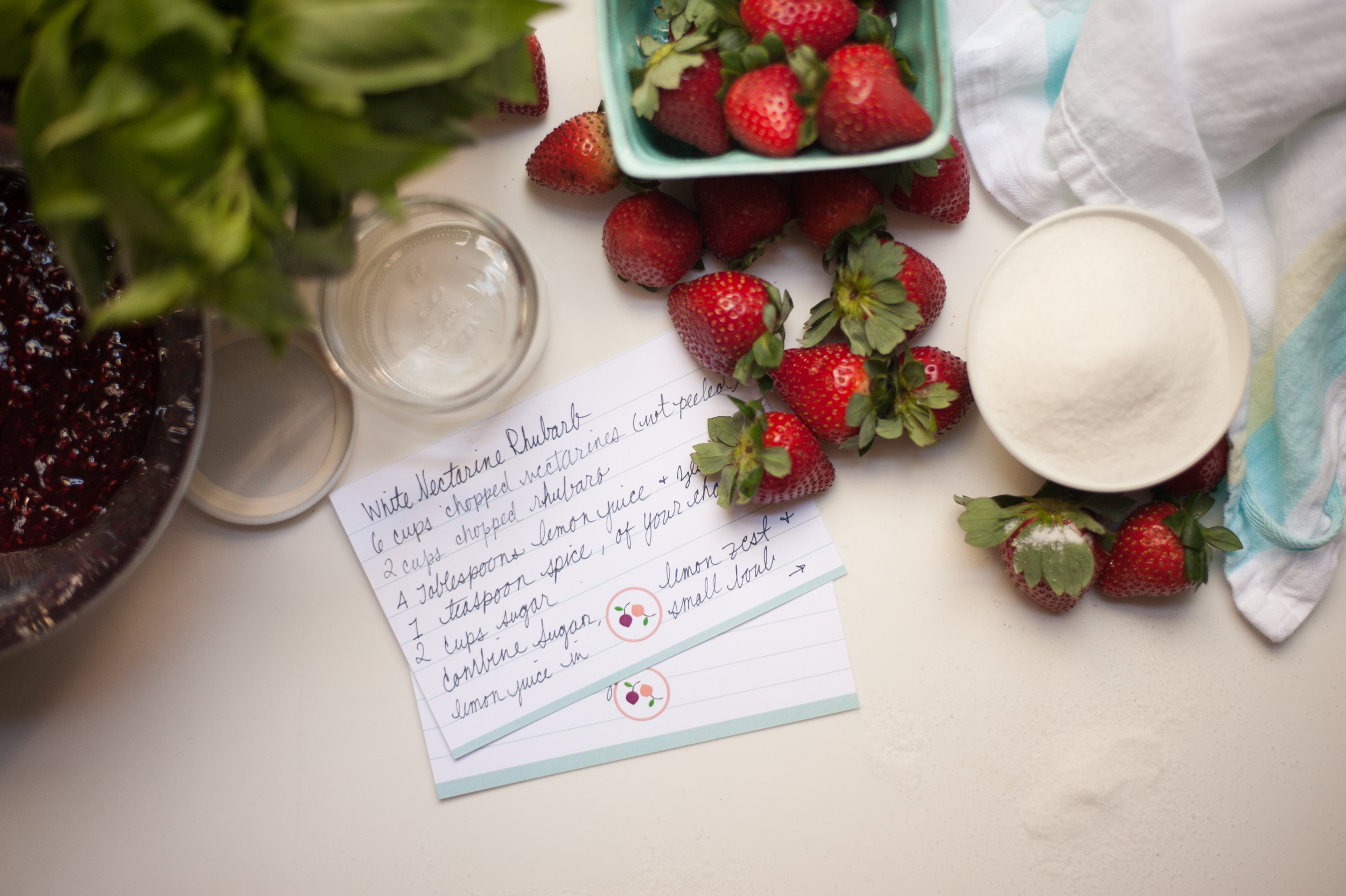 Smash and Bramble Recipe Cards