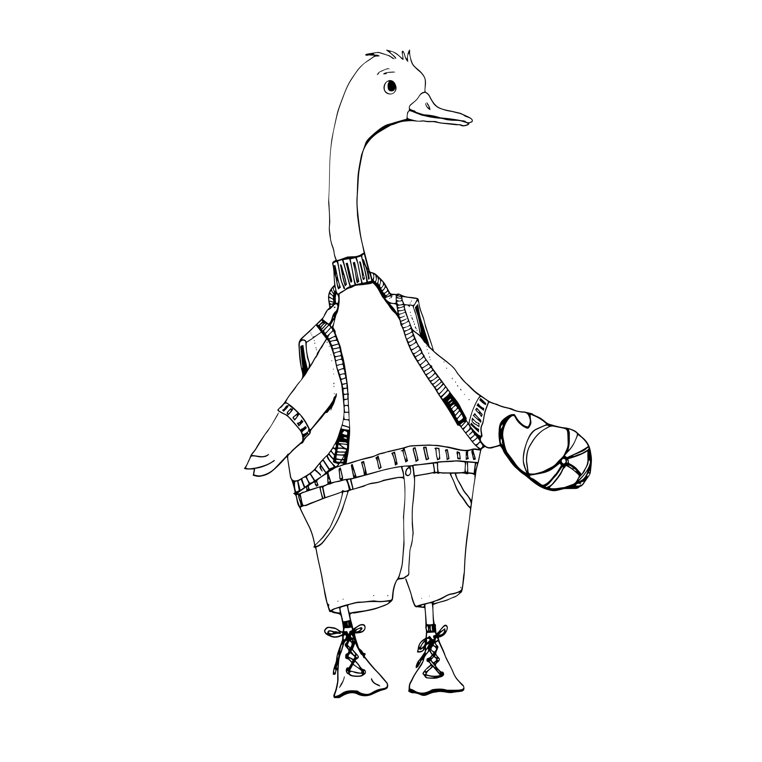 Duck BW.png