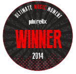 """2014 """"Crowd Series""""Winner    Ultimate Music Moment x PDN / Relix"""