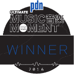 """2016 """"Performance""""Winner      2016 """"Artist Portrait"""" Winner    Ultimate Music Moment x PDN / B&H"""