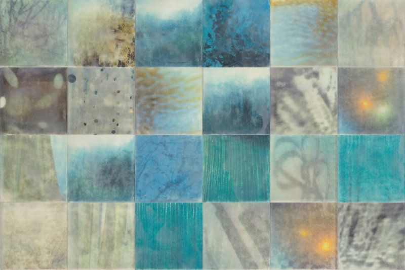Whispers by Erin Keane : photography with encaustic beeswax : 24 x 36 inches