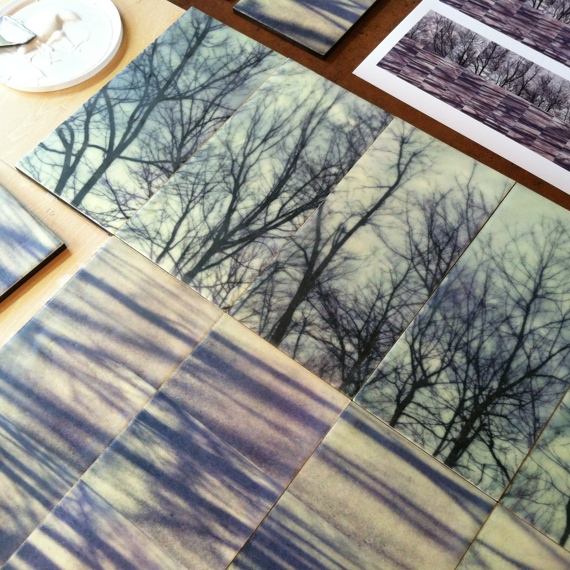Poetic Passage by Erin Keane : photography with encaustic beeswax