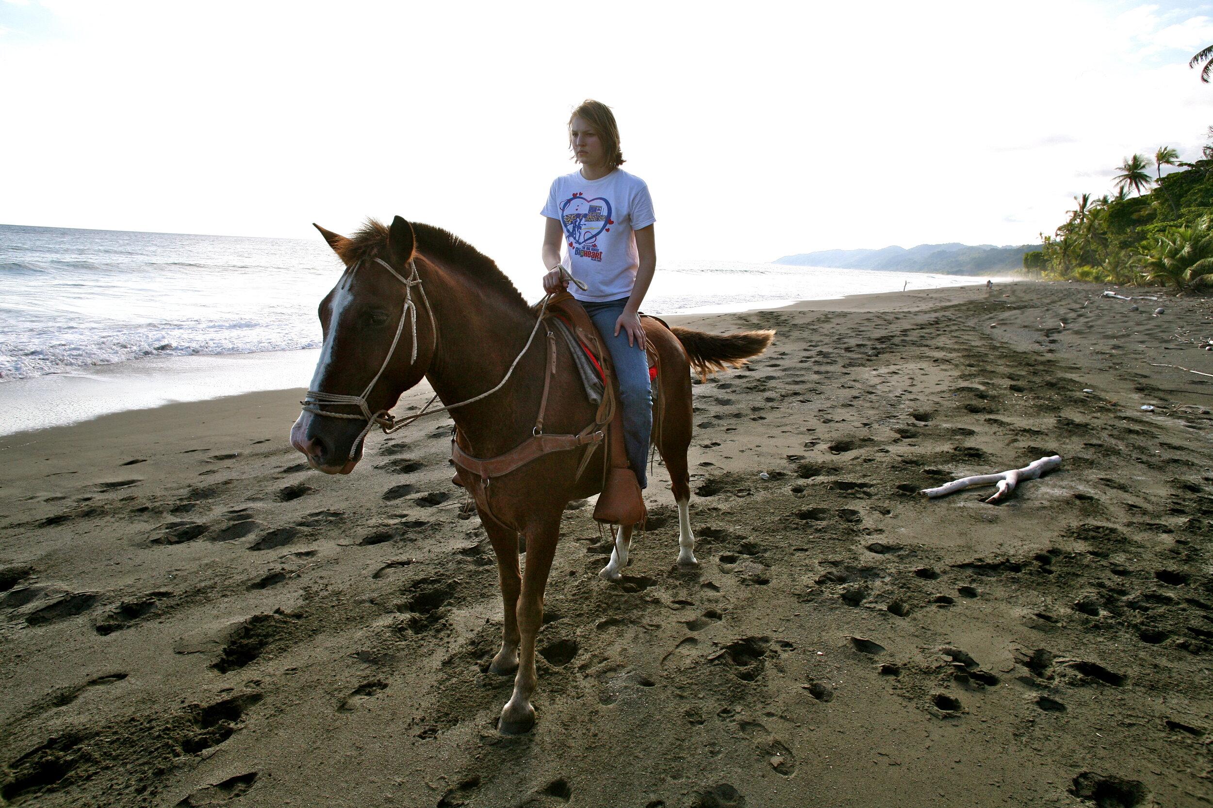 Horseback - Ride horses on a remote tropical beach…