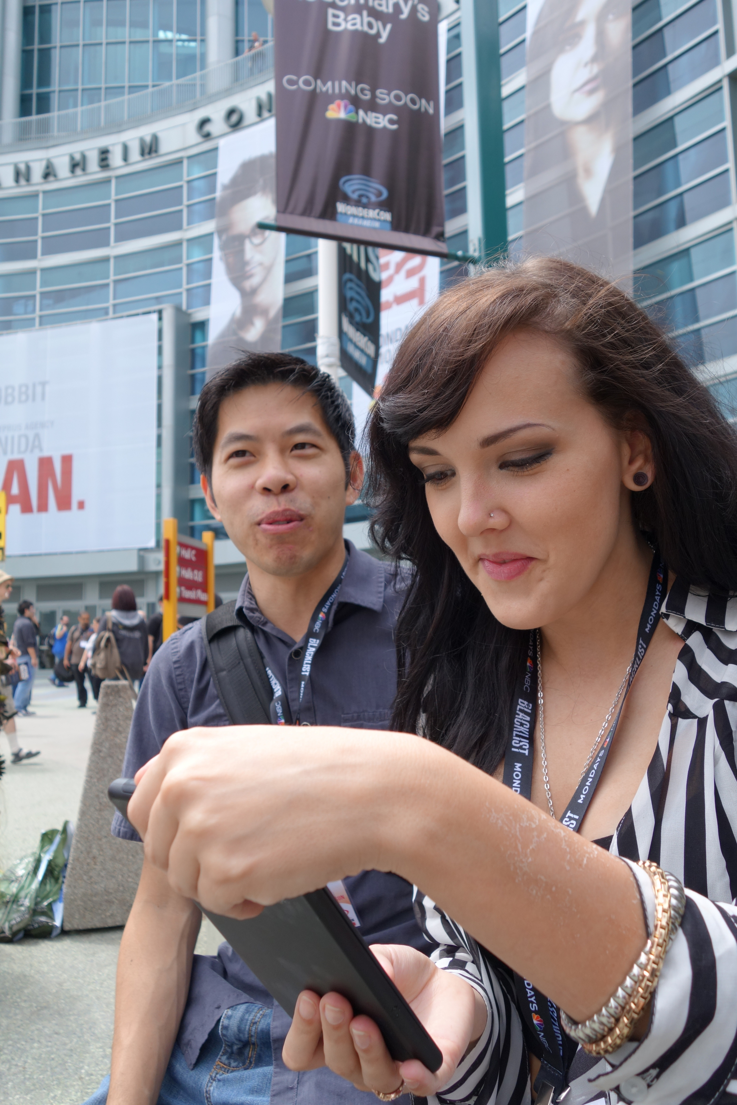 Darshelle going nuts on my Sony RX100 and my phone!