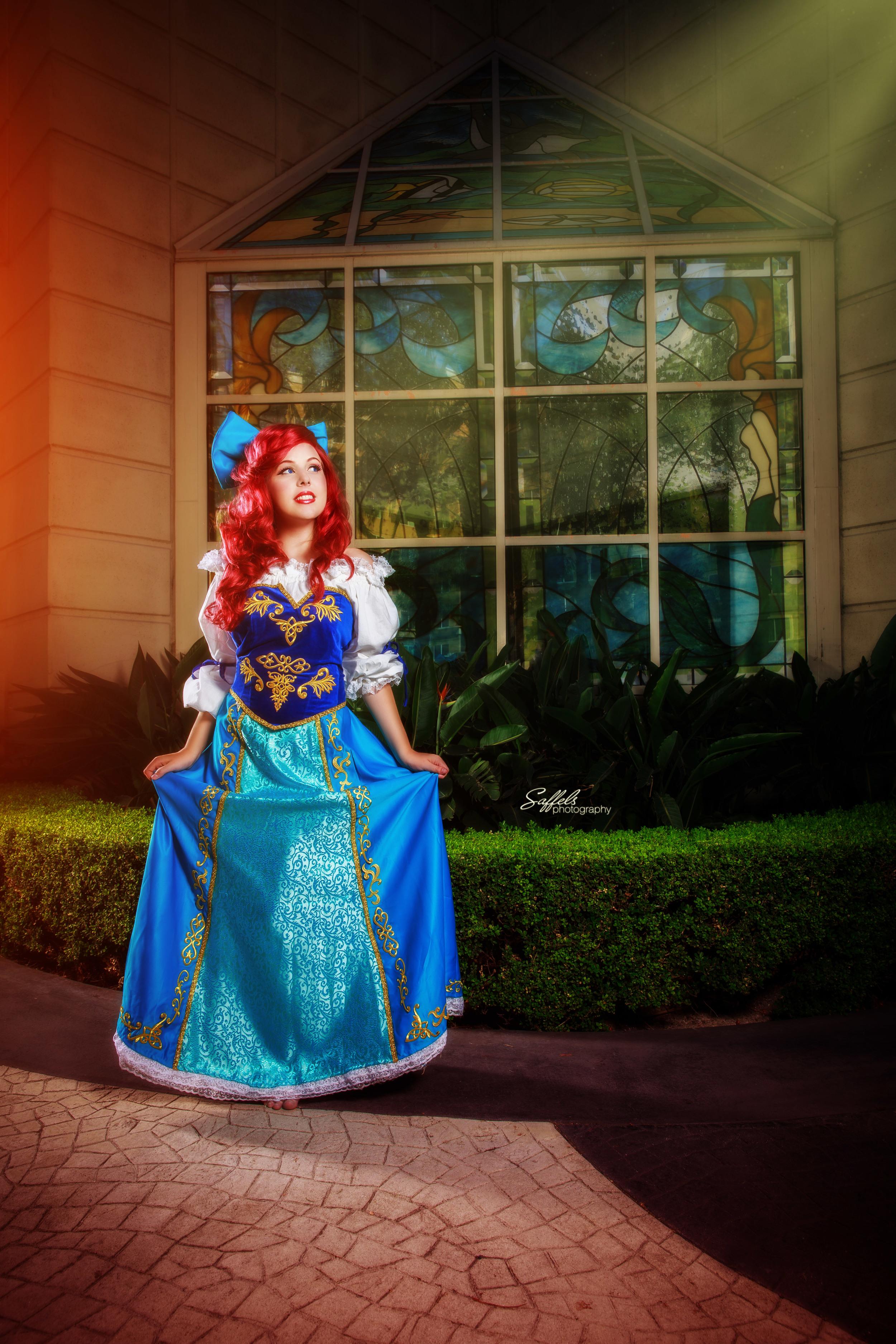 Courtoon as Ariel