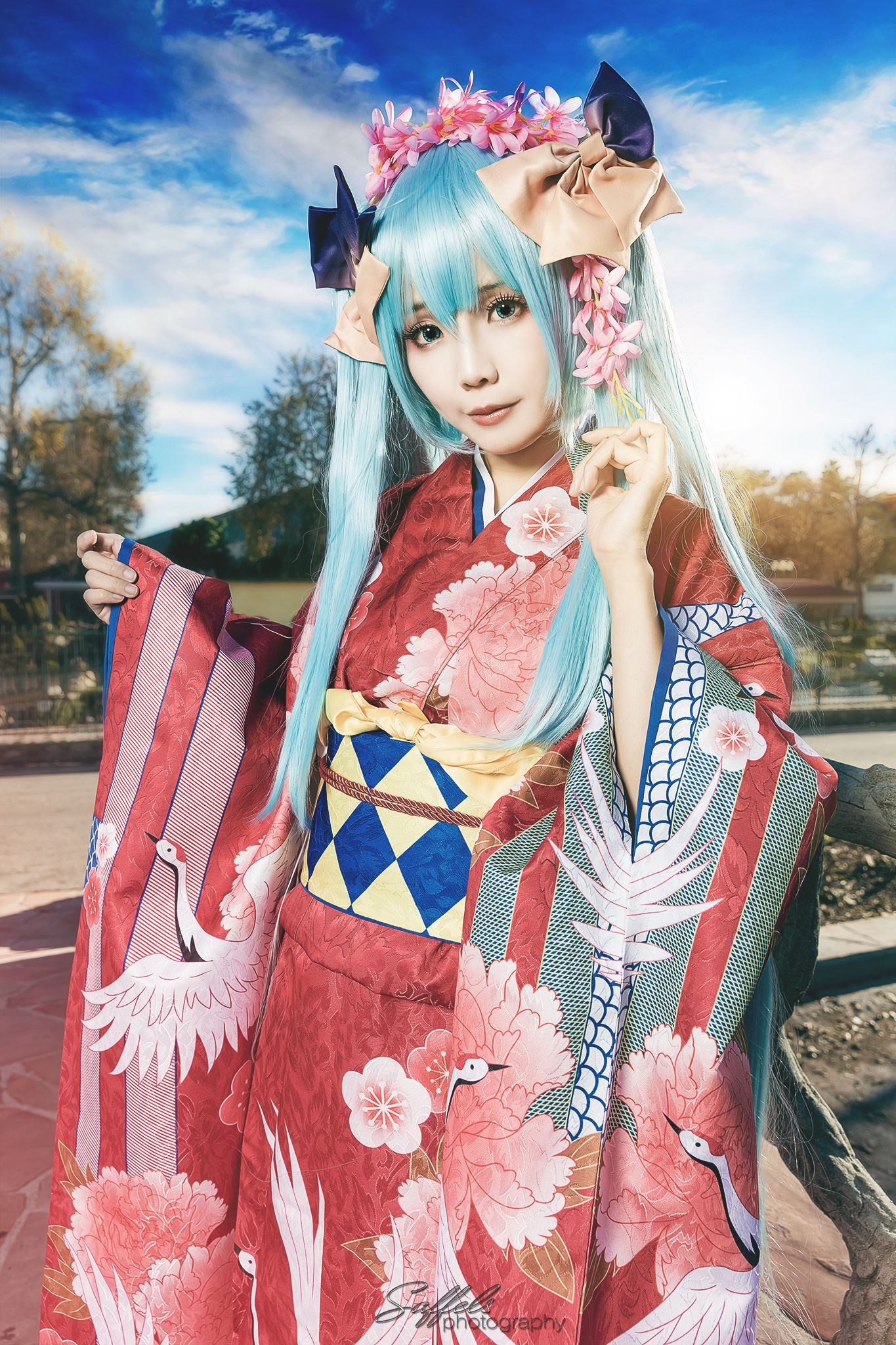 My first shot of Ely Cosplay as Hatsune Miku
