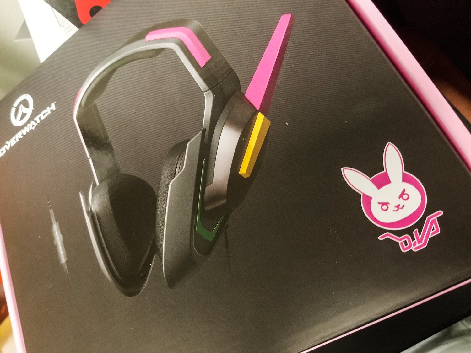 Packaging for the headset
