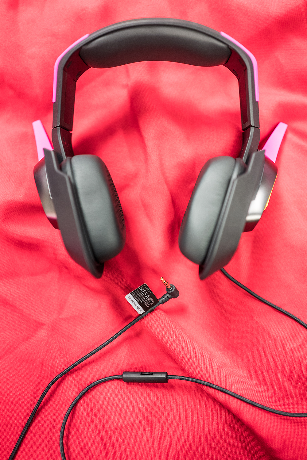 Full view of the headset