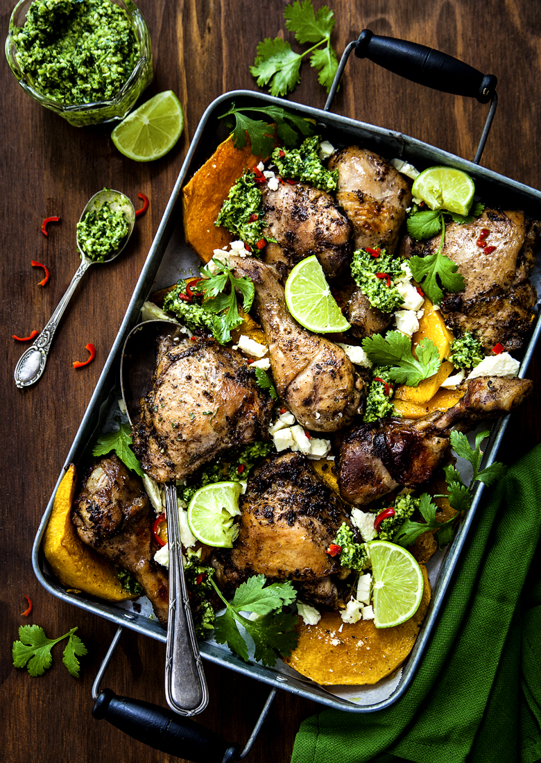 The Food Union - Mexican Chicken with Pumpkin & Pepita Pesto
