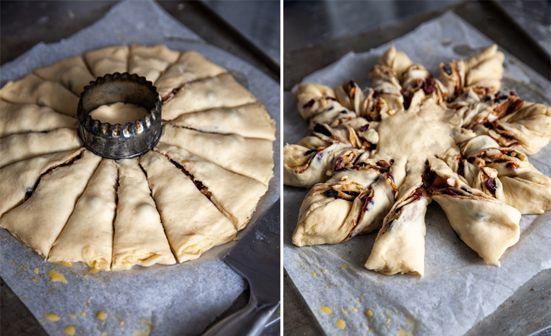 TFU - Christmas Star Bread