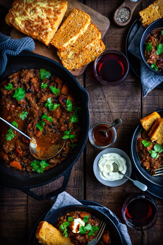 MM - Mar 2019 - Smokey Beef & Bean Braise