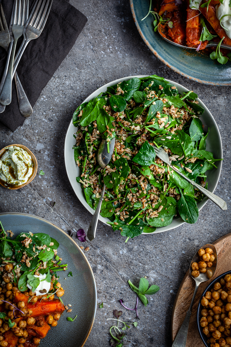 MM - Spinach & Grain Salad