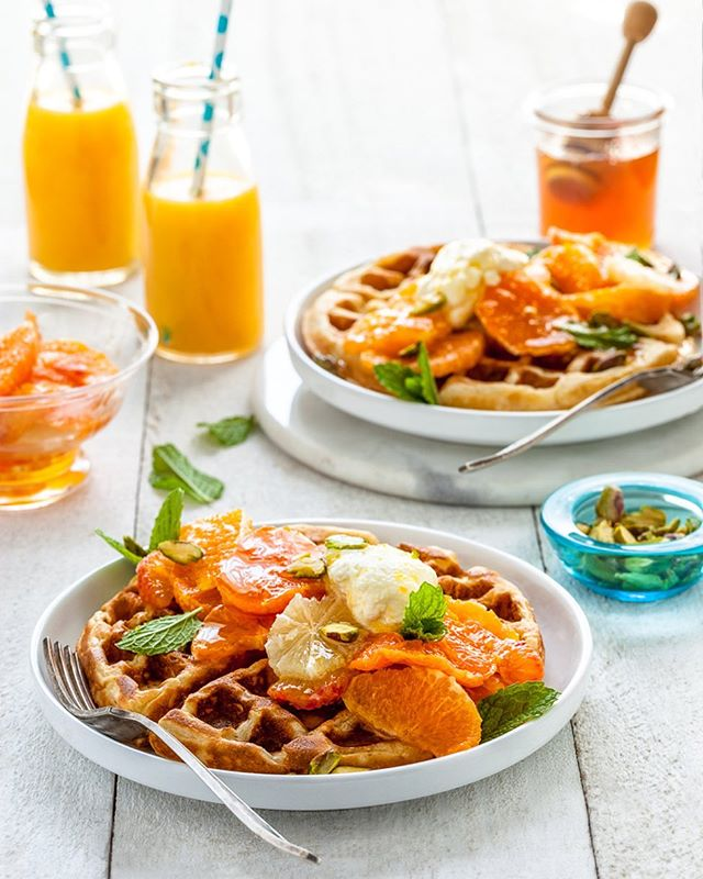Loving the abundance of citrus at this time of year, with so many options for recipes - both sweet & savoury. Last weekend's brunch is one of my favourites recipe for combining a few different citrus flavours together. . There's only ever clean plates after serving this dish to the hungry hordes, so you can't go wrong! . Enjoy! . Recipe on the blog - link in profile.