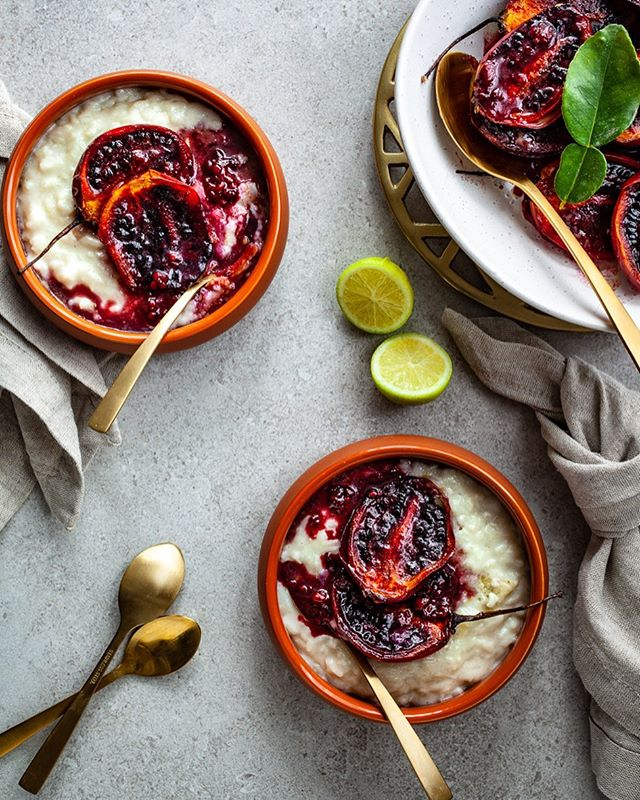 Winter is nearly over, which means it's coming to the end of the tamarillo season here in New Zealand.  So this week I have another recipe from fellow foodie Jen Pomeroy @the.modern.mess (www.themodernmess.com), using roast tamarillos with a Lime & Coconut Rice Pudding. I love the combination of the smooth creamy rice pudding with the slight tartness of the tamarillos. A perfect combination for comfort food if you ask me, and a tasty winter dessert.  I haven't met anyone who doesn't like this dish.  Enjoy!  Recipe on the blog - link in profile