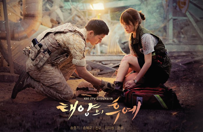 Descendants of the Sun, drew an audience share of over 30% in Korea.