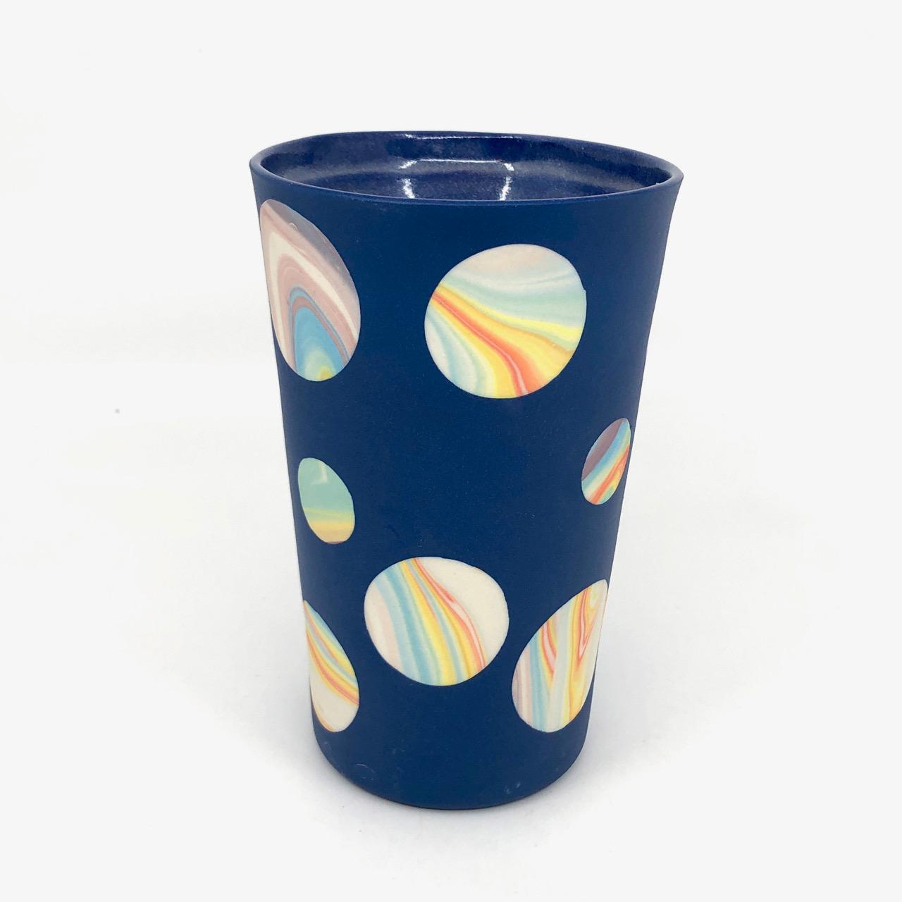Blue Rainbow Planetary Double Walled Mug