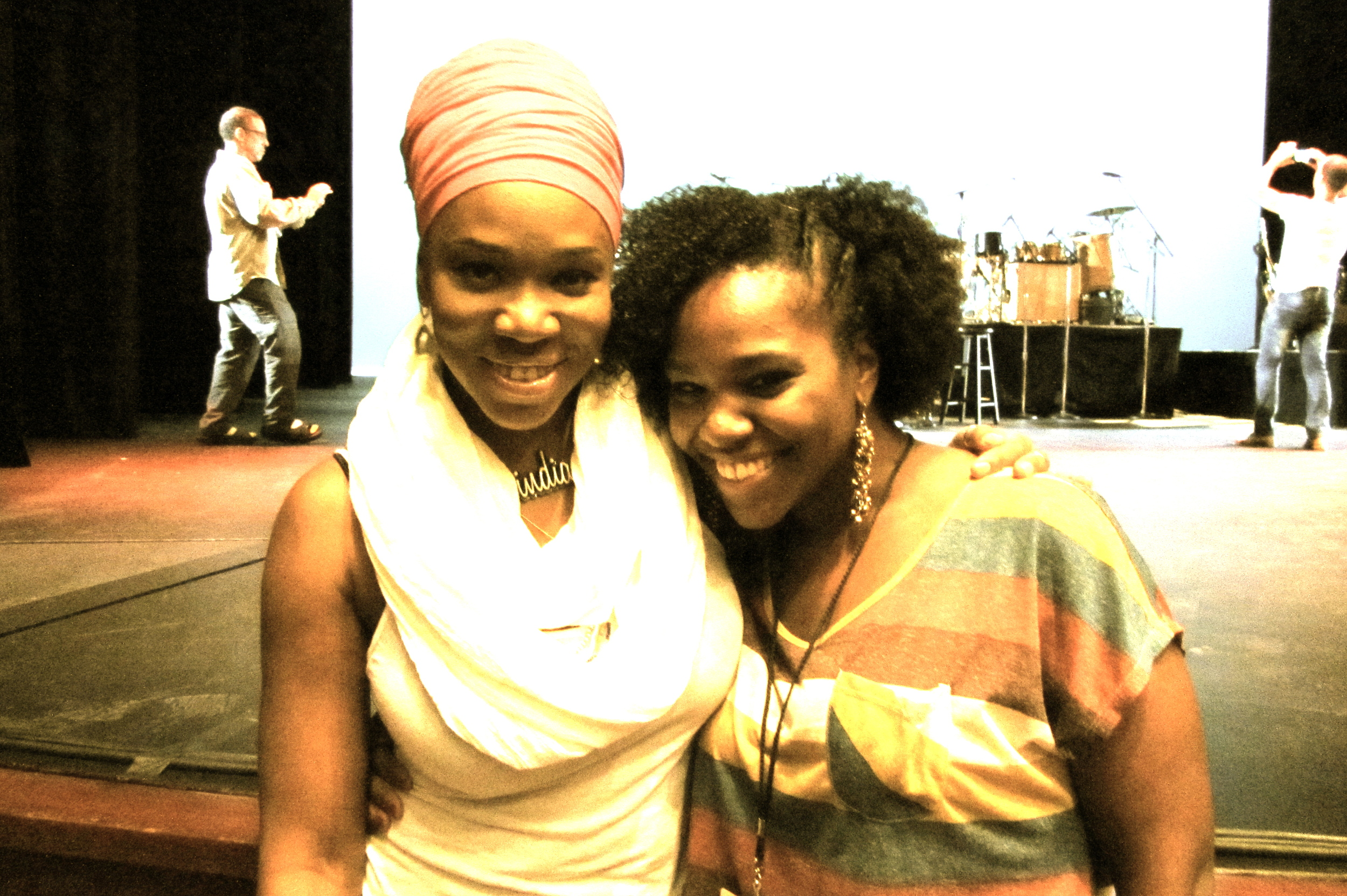 huge inspiration....India Arie.