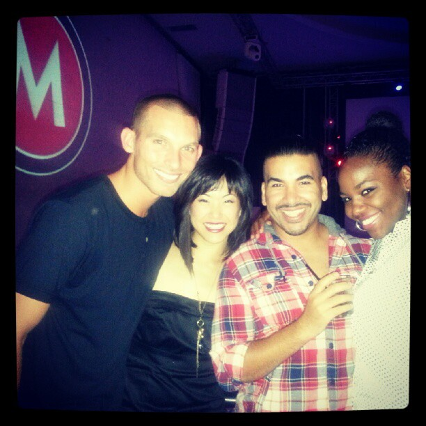 supporting Marissa Osato at MTA choreography showcase