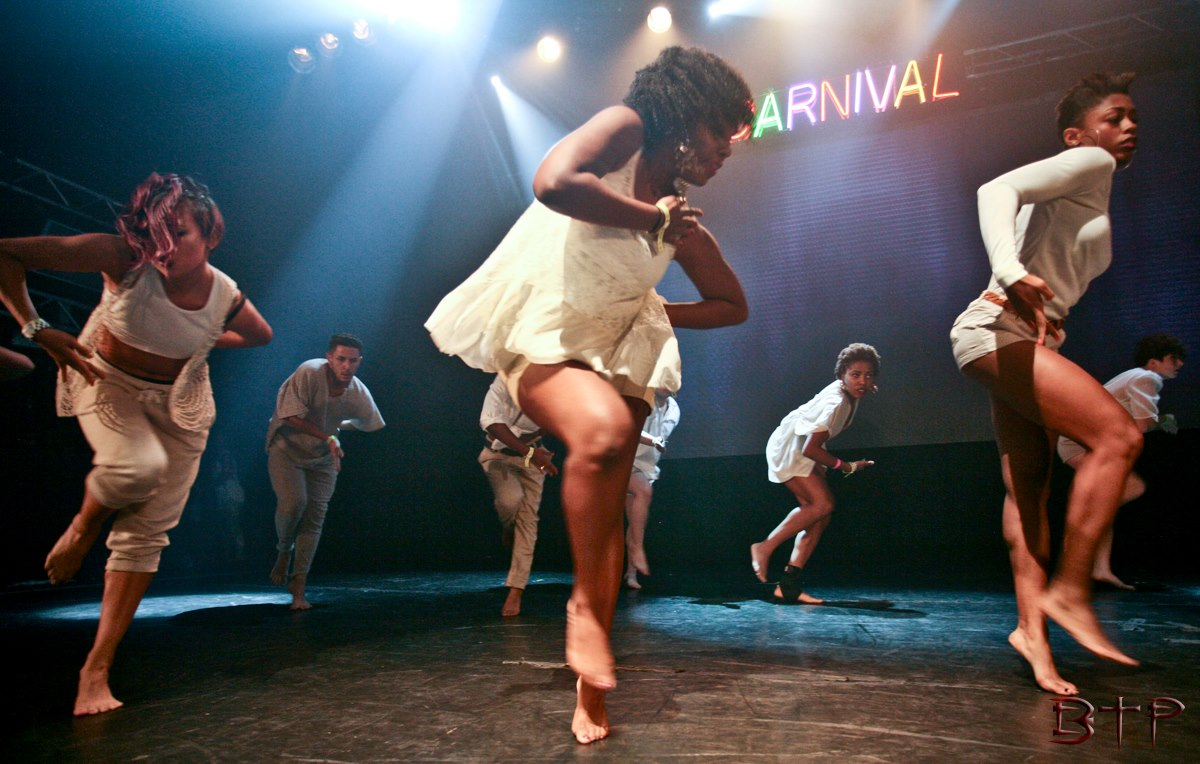 onstage at Carnival!