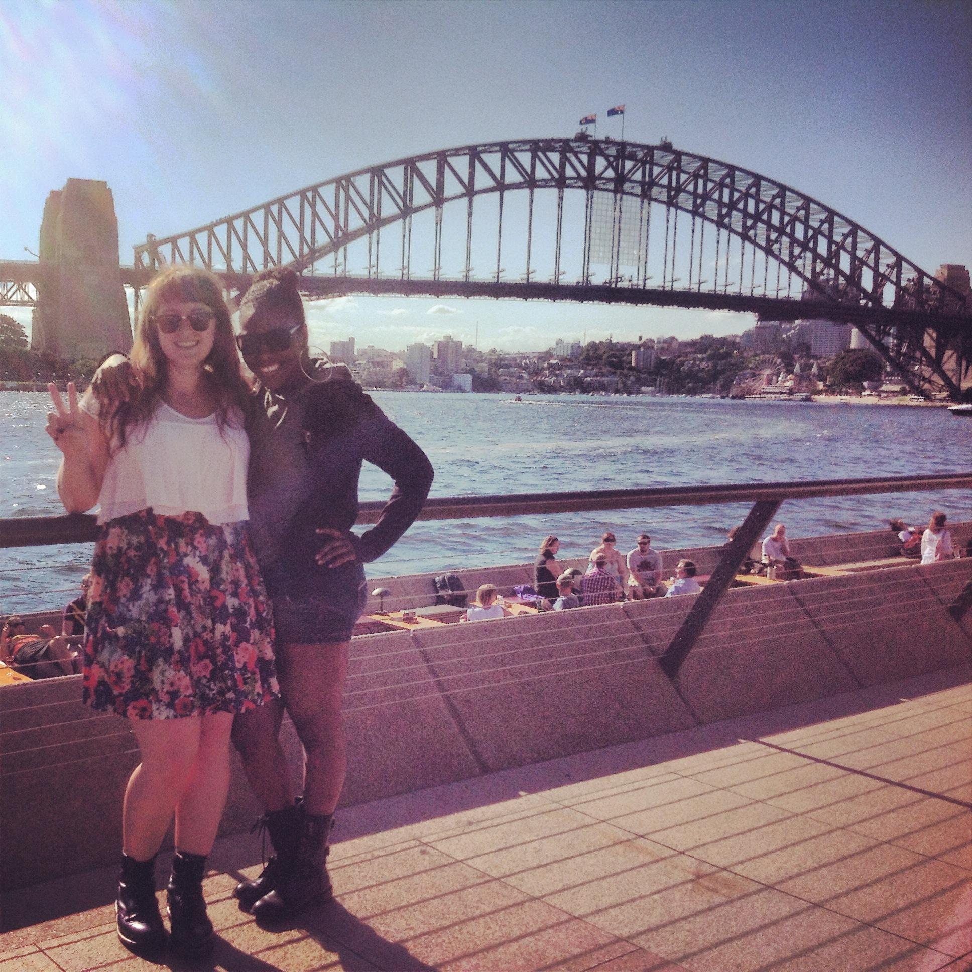 Sydney with Erica