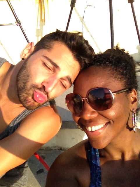 Camillo and I in Italy